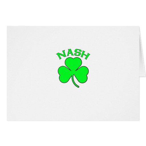 Nash Greeting Card