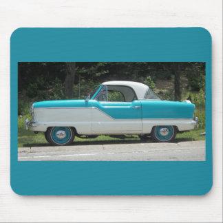 Nash Hudson Metropolitian blue and white Mouse Pad
