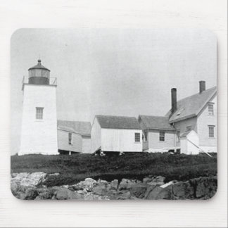 Nash Island Lighthouse Mouse Pad
