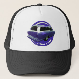 nash long roof blue station wagon trucker hat