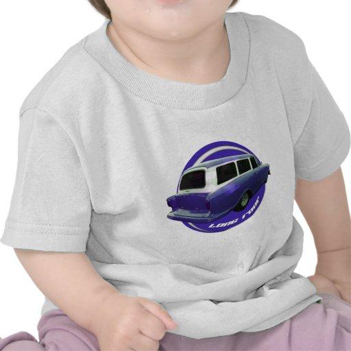nash long roof blue station wagon tshirt