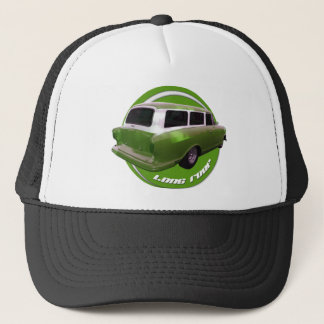 nash long roof green station wagon trucker hat