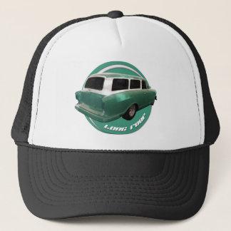 nash long roof seafoam station wagon hot rod trucker hat