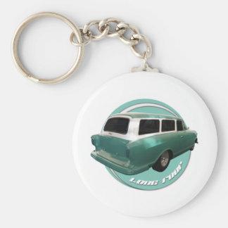 nash long roof seafoam station wagon keychain
