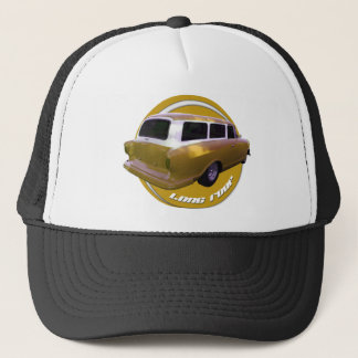 nash long roof station wagon golden yellow trucker hat
