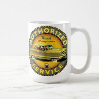 Nash Metropolitan early car service sign Coffee Mug