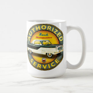 Nash Metropolitan service sign Coffee Mug