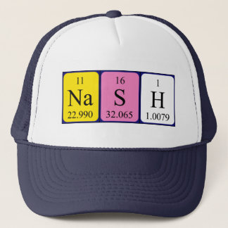 Nash periodic table name hat