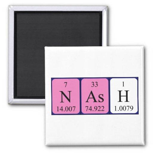 Nash periodic table name magnet