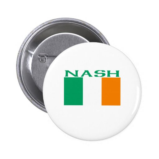 Nash Pinback Button