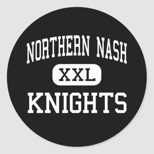 Nash septentrional - caballeros - alto - soporte pegatina redonda