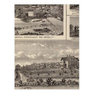 Nashua farm and residence postcard