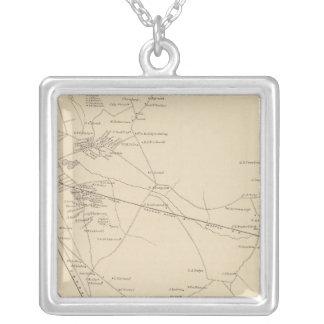 Nashua, Hillsborough Co 2 Silver Plated Necklace