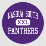 Nashua South - Panthers - High - Nashua Classic Round Sticker