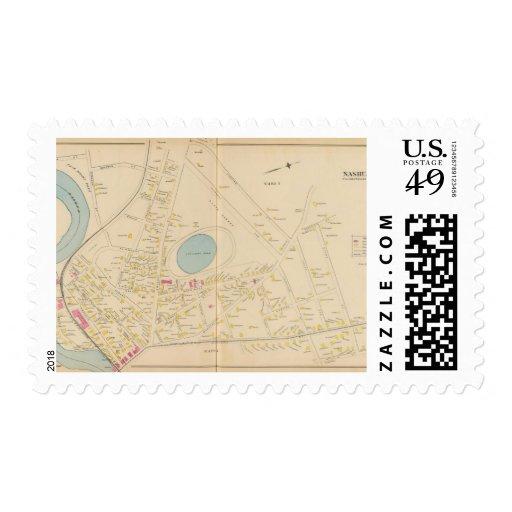 Nashua, Ward 12, 5 Postage Stamps