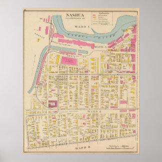 Nashua, Ward 1, 56, 8 Poster