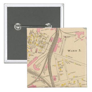 Nashua, Ward 3, 7 Pinback Button