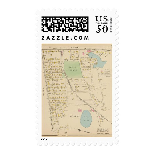 Nashua, Ward 68 Postage