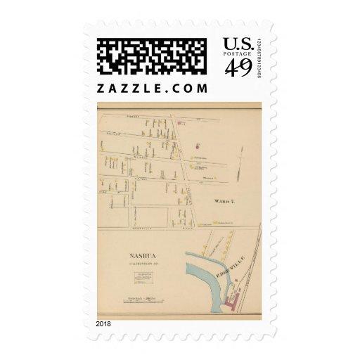 Nashua, Ward 7, Edgeville Postage Stamps