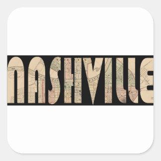 nashville1877 square sticker