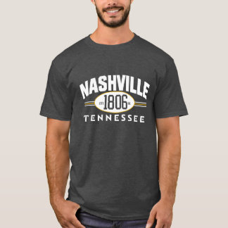 NASHVILLE 1806 Tennessee City Incorporated tee
