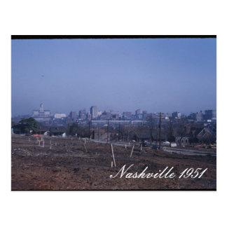 Nashville 1951 Postcard