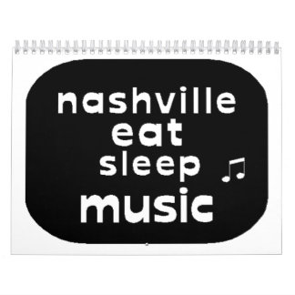 Nashville 2015 Calendar2 Wall Calendar