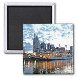 Nashville 2 Inch Square Magnet