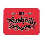 Nashville 615 flexible magnets