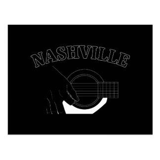 Nashville Acoustic Guitar Postcard