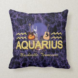 "Nashville Aquarius Throw Pillow 16"" x 16"""