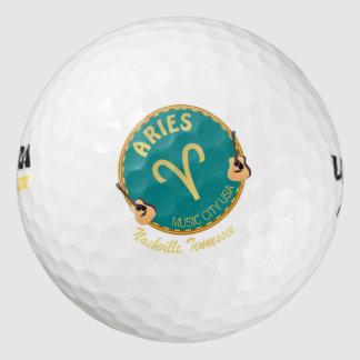 Nashville Aries Wilson Ultra 500 Golf Ball