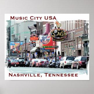 Nashville - arte del poster