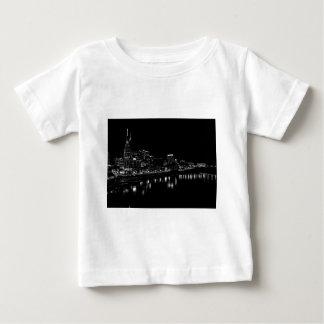 Nashville At Night Baby T-Shirt