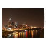 Nashville at Night Card