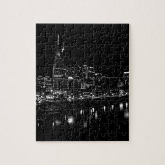 Nashville At Night Jigsaw Puzzle
