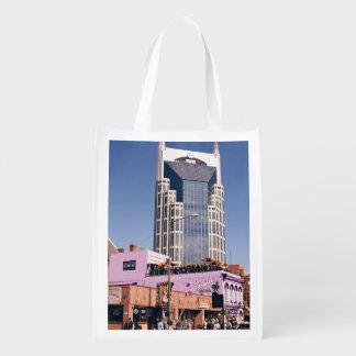 Nashville Batman Iconic Building Grocery Bag