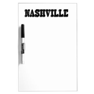 Nashville Black Block Dry-Erase Board
