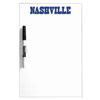Nashville Blue Block Dry-Erase Board