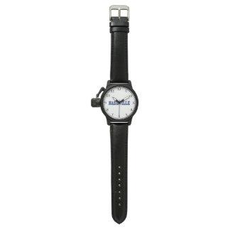 Nashville Blue Block Wrist Watch