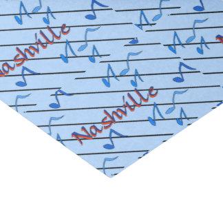 "Nashville Blue Notes 10"" X 15"" Tissue Paper"