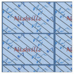 Nashville Blue Notes Fabric