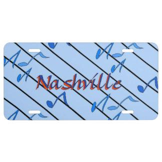 Nashville Blue Notes License Plate