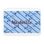 Nashville Blue Notes Magnet