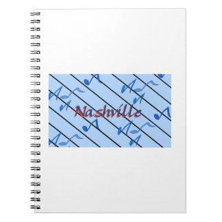 Nashville Blue Notes Note Book