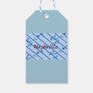 Nashville Blue Notes Pack Of Gift Tags
