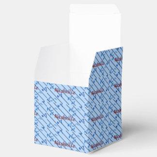 Nashville Blue Notes Party Favor Box
