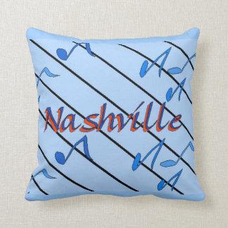 Nashville Blue Notes Pillow