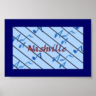 Nashville Blue Notes Poster