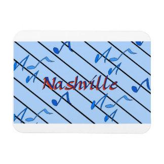 Nashville Blue Notes Rectangular Photo Magnet